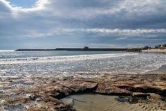 Lyme Regis Seascape Royalty Free Stock Photos
