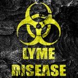 Lyme virus concept background Stock Photo