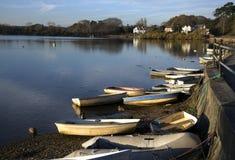 Lymington flod Arkivbilder