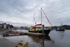 Lymington Harbour Stock Image