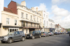Lymington High Street Stock Image
