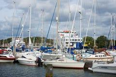 Lymington Marina Hampshire UK Royalty Free Stock Photo