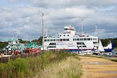 Lymington Marina Hampshire UK Royalty Free Stock Images