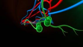 Lymph nodes vector illustration