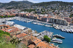 Lympia Port in Nice, France Royalty Free Stock Photos