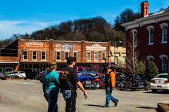 lynchburg TN Center of the town 04/02/2018 stock photos