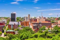 Lynchburg Virginia, USA horisont Royaltyfri Fotografi