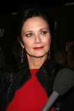 Lynda Carter. Arriving at the Launch of Fallout 3 Videogame at the LA Center Studios  in Los Angeles, CA October 16, 2008 Royalty Free Stock Photo