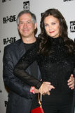 Lynda Carter, Rage. Lynda Carter and husband Robert A. Altman  at the Rage Official Launch Party, The Rage, Los Angeles, CA 09-30-11 Stock Photography