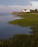 Lynde Lighthouse. This is a picture of the Lynde Lighthouse in Connecticut Stock Photo