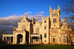 Lyndhurst Castle,. The former home of mogul Jay Gould is now a museum open to the public in Tarrytown, New York Stock Photography