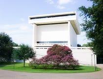 ОСТИН ТЕХАС 17-ОЕ СЕНТЯБРЯ 2017: Библиотека и музей Lyndon b Джонсона LBJ в Остине, Техасе стоковое изображение rf