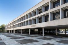 Lyndon Johnson School von öffentlichen Angelegenheiten lizenzfreie stockfotos