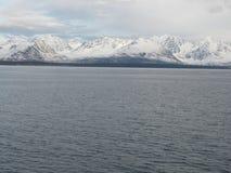 Lyng Alps, północ Tromso Obrazy Royalty Free
