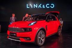 LYNK- & för Co 01 bil Royaltyfri Bild