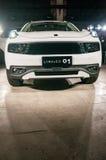 LYNK- & för Co 01 bil Arkivbilder