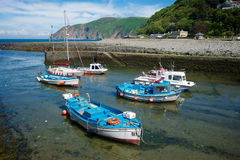 Lynmouth, ο Βορράς Devon UK στοκ εικόνα με δικαίωμα ελεύθερης χρήσης