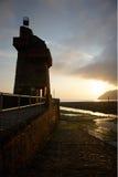 Lynmouth, северный Девон Великобритания Стоковые Фотографии RF