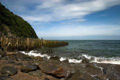 Lynmouth. Exmoor National Park, England stock photography