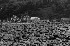 Lynmouth Fotografie Stock