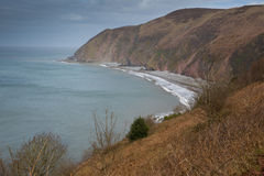 Lynmouth Bay Devon England Royalty Free Stock Photos