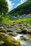 Lynmouth, Devon, Angleterre, Exmoor Images stock