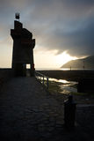 Lynmouth, Devon del nord Regno Unito Immagine Stock Libera da Diritti
