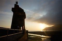 Lynmouth, Devon del nord Regno Unito Fotografia Stock Libera da Diritti