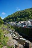 Lynmouth, Devon del norte Reino Unido imágenes de archivo libres de regalías