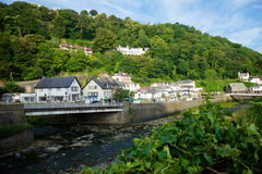 Lynmouth, Devon du nord R-U Images stock