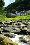 Lynmouth, Devon, Engeland, Exmoor Royalty-vrije Stock Fotografie