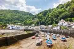 Lynmouth Devon England Regno Unito Immagine Stock Libera da Diritti