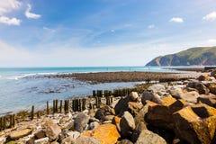 Lynmouth Devon England Regno Unito Fotografia Stock Libera da Diritti
