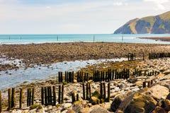 Lynmouth Devon England UK Arkivfoto