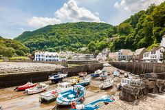 Lynmouth Devon England UK Royalty Free Stock Images