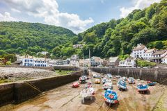 Lynmouth Devon England UK Royalty Free Stock Image