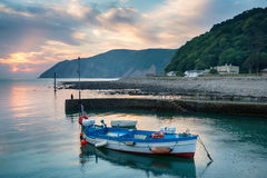 Lynmouth in Devon Stock Image
