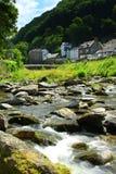 lynmouth exmoor Девона Англии Стоковая Фотография RF