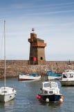 Lynmouth hamn i Devon UK Royaltyfri Fotografi