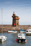Lynmouth Harbour in Devon UK Royalty Free Stock Photography