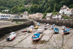 Lynmouth Harbour Stock Image