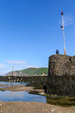 Lynmouth harbour Royalty Free Stock Photography