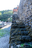 Lynmouth harbour Stock Photo