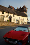 Lynmouth, het Noorden Devon het UK stock afbeeldingen