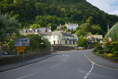 Lynmouth, North Devon UK Royalty Free Stock Images