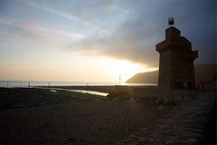 Lynmouth, North Devon UK Royalty Free Stock Image