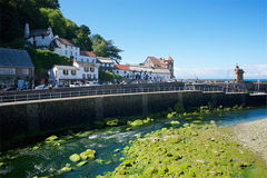 Lynmouth, North Devon UK Stock Images