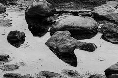 Lynmouth Pebbles Royalty Free Stock Photography