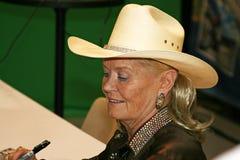 Lynn Anderson - festival 2009 de CMA Foto de Stock Royalty Free
