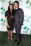 Lynn Collins, Steven Strait. Lynn Collins and Steven Strait at Global Green USA's 6th Annual Pre-Oscar Party. Avalon Hollywood, Hollywood, CA. 02-19-09 Stock Photo